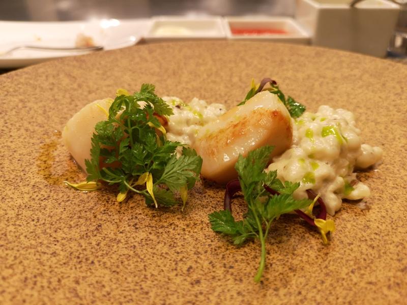 teppenyaki12 竹北-喜來登內的邀月亭鐵板燒 輕鬆舒適又好吃