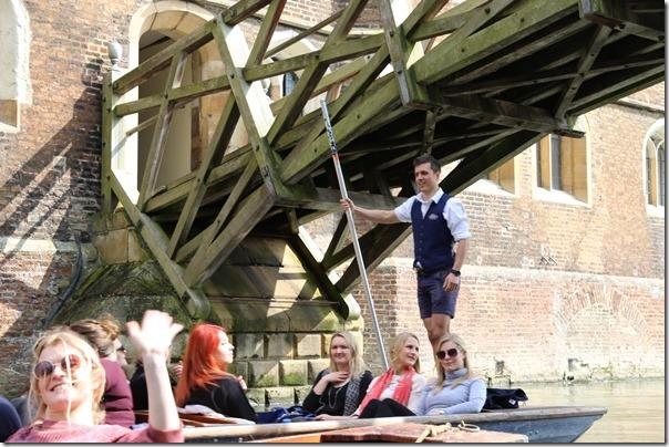 ponting32_thumb Cambridge-再見康橋 許多年後的劍橋 依舊美麗 搭船遊康河