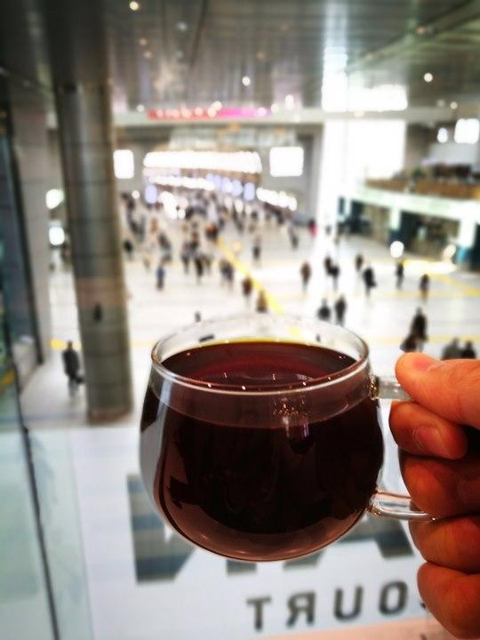 bluebottlecoffee13 Shinagawa-品川車站巧遇藍瓶子Blue Bottle怎麼樣也要來一杯