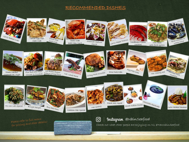 recommended-dishes-27 Singapore-New Ubin Seefood新加坡米其林推薦餐廳