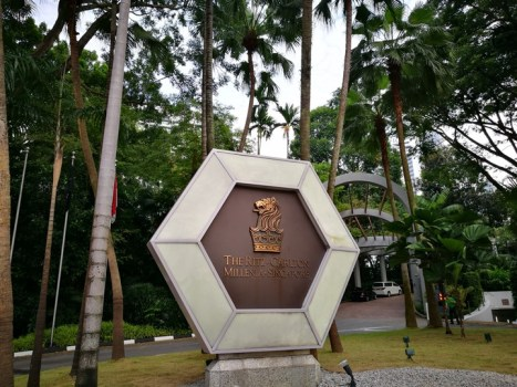Singapore-Ritz Carlton心滿意足的五星級飯店 新加坡最常住的飯店之一