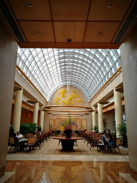 ritzcarltonsigapore001105 Singapore-Ritz Carlton心滿意足的五星級飯店 新加坡最常住的飯店之一