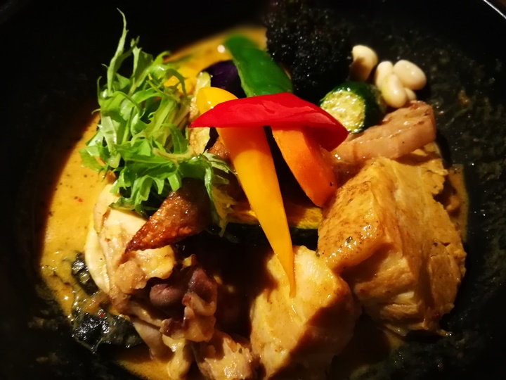 samurai13 Sapporo-札幌 侍 香濃醇辣的湯咖哩 北海道名品好好吃喔