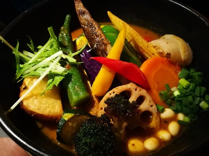 samurai16 Sapporo-札幌 侍 香濃醇辣的湯咖哩 北海道名品好好吃喔