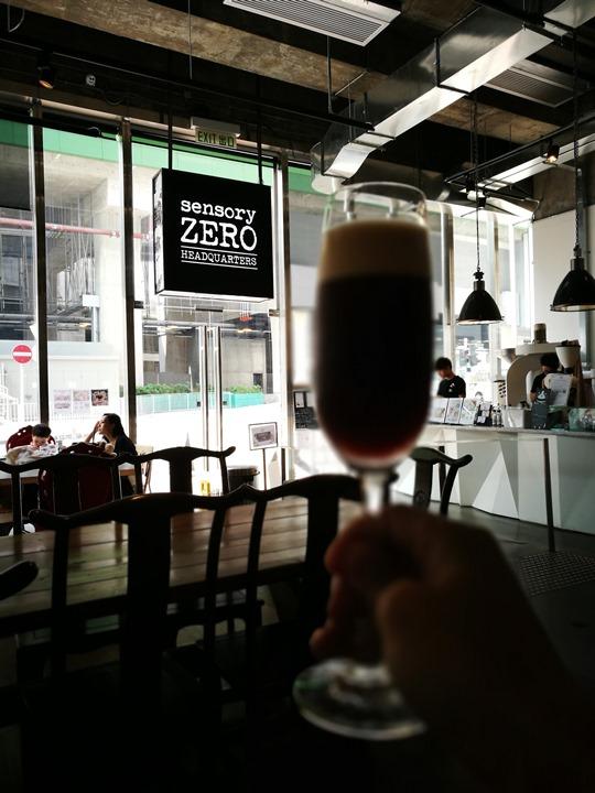sensoryzero20 HK-黃竹坑Sensory Zero盛夏的一杯清涼 氮氣咖啡什麼鬼啊!!!