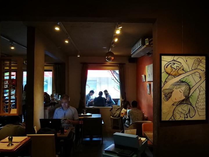dousuncoffee05 松山-左先生咖啡館 一杯咖啡香一首好音樂