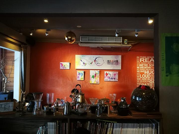 dousuncoffee07 松山-左先生咖啡館 一杯咖啡香一首好音樂