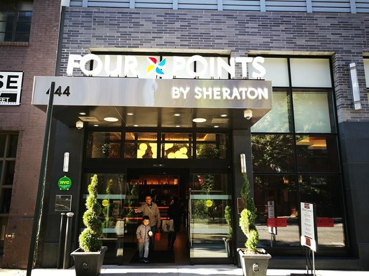 4pointsnyc01 New York-果真大蘋果之紐約真好玩 Four Points by Sheraton Manhattan Midtown West簡單舒適好睡的商務飯店