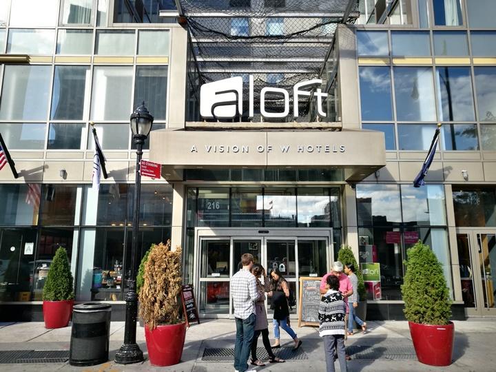 aloftbrooklyn01 New York-果真大蘋果之紐約真好玩 Aloft Brooklyn簡單乾淨