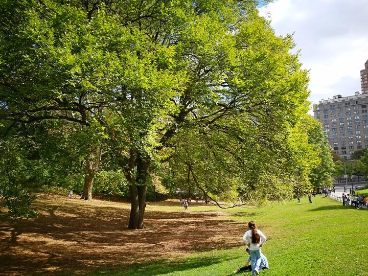 centralpark09 New York-果真大蘋果之紐約真好玩 中央公園 躺著曬太陽也愜意的好所在