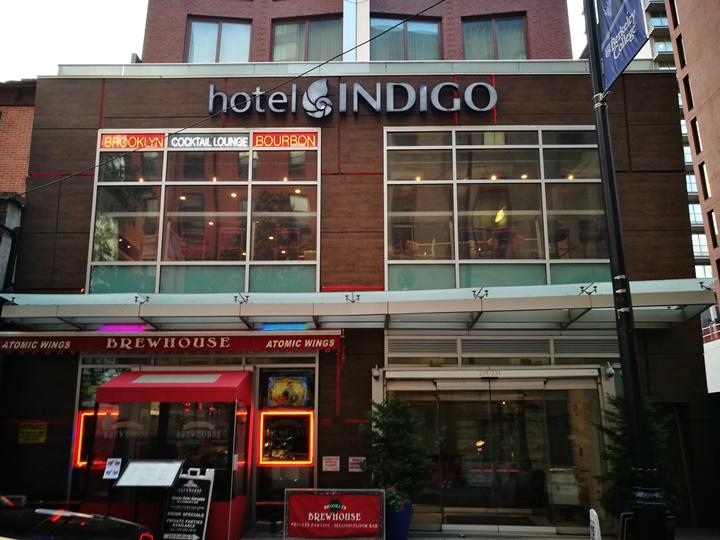 indigobrooklyn1 New York-果真大蘋果之紐約真好玩 Hotel Indigo Brooklyn好舊好沒特色的Indigo