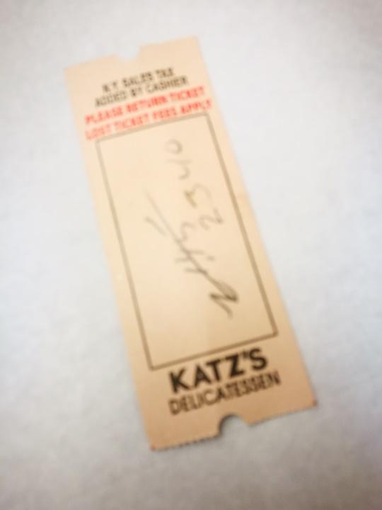 katzs15 New York-果真大蘋果之紐約真好玩 最好吃的燻牛肉三明治Katz's Delicatessen