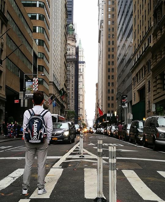 wallstreet2319 New York-紐約真好玩之華爾街的金融遊戲/帶領股市向上的金牛/無所謂的無畏女孩