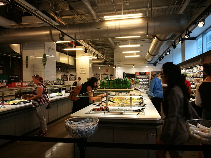 wholefoods05 New York-紐約好好玩之Whole Foods Market有機超市吃熱食...感受當地人生活