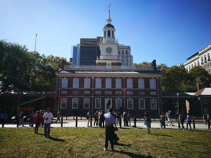 Philly06 Philadelphia-費城 自由鐘/獨立廳&賓大U Penn 美利堅合眾國的開端