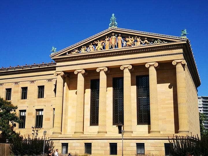 Philly36 Philadelphia-羅丹博物館看雕塑/費城藝術博物館 深植人心的拳王洛基拍攝處
