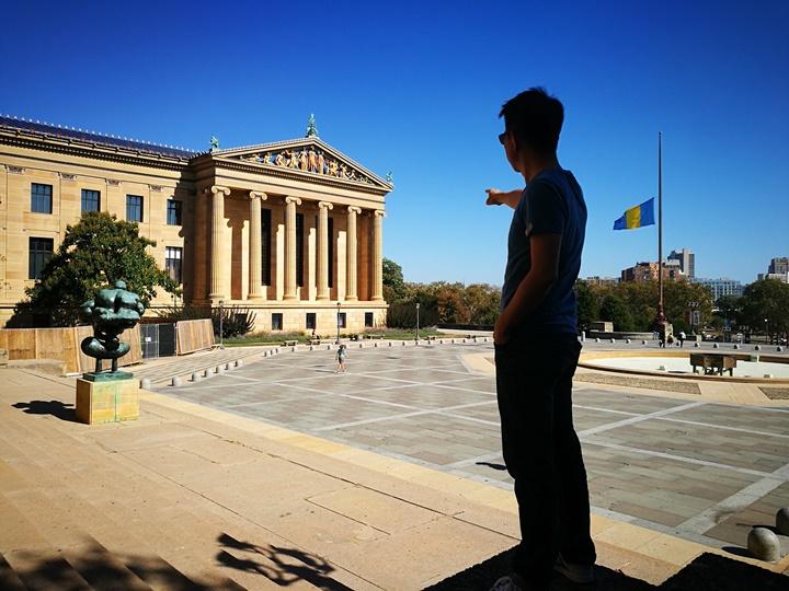 Philly40 Philadelphia-羅丹博物館看雕塑/費城藝術博物館 深植人心的拳王洛基拍攝處