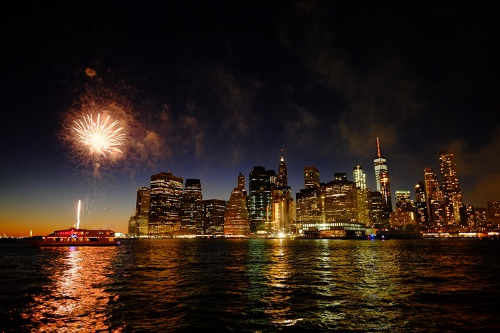 dumboview10 New York-果真大蘋果之紐約真好玩 布魯克林橋下 網紅聖地Dumbo&渡船碼頭賞曼哈頓夜景