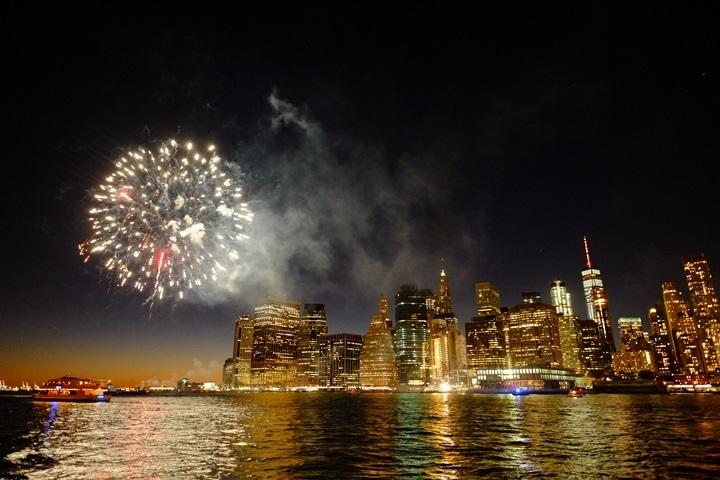 dumboview13 New York-果真大蘋果之紐約真好玩 布魯克林橋下 網紅聖地Dumbo&渡船碼頭賞曼哈頓夜景