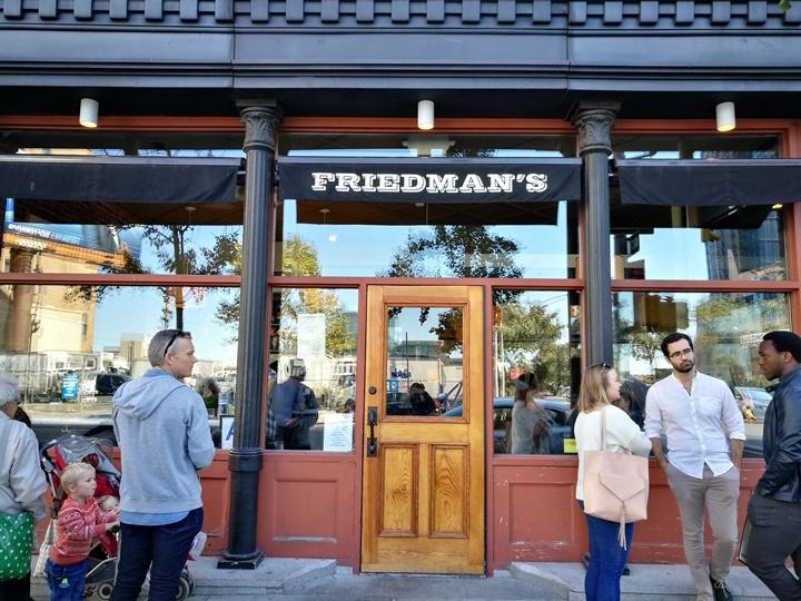 friedmans01 New York-果真大蘋果之紐約真好玩 Friedman's 早午餐正時尚