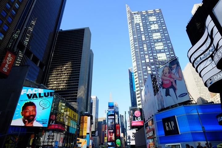 timesquare04 New York-果真大蘋果之紐約真好玩 無敵夯的時代廣場