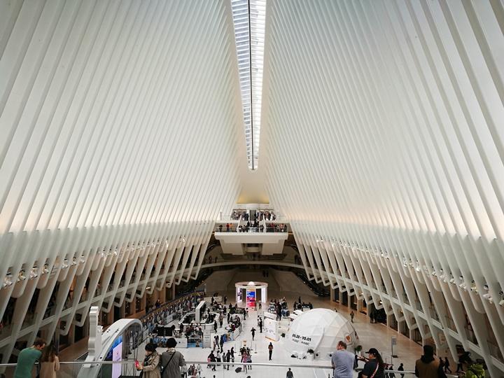 WTC460222 New York-果真大蘋果之紐約真好玩 重生的世貿中心1 WTC 超美的Oculus車站