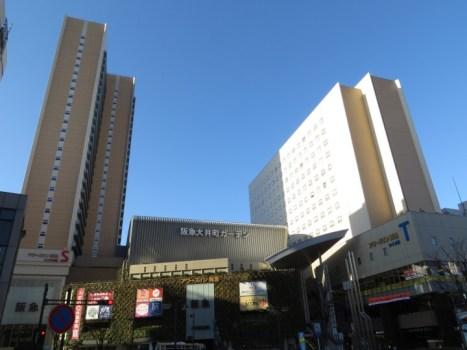 Oimachi-大井町Ours Inn阪急 超方便舒適簡單但有高級飯店FU