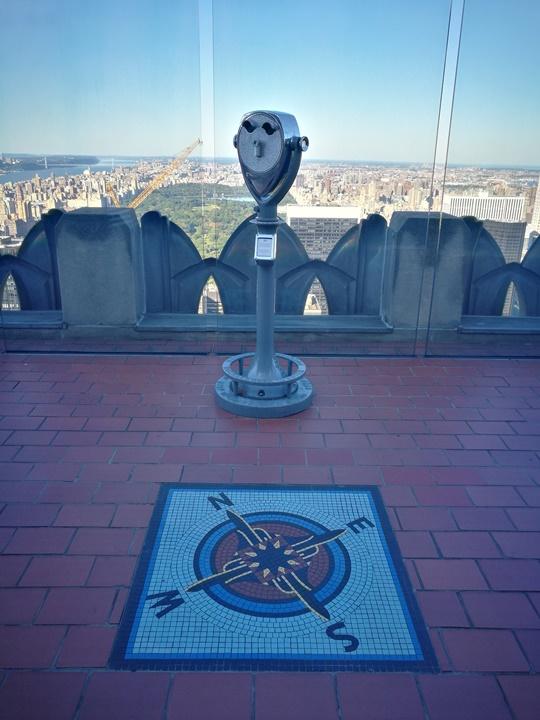 rocktop09 New York-果真大蘋果之紐約真好玩 The Top of the Rock洛克斐洛大樓 日景夜景都美麗