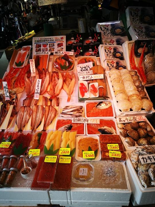 hakodatemorningmarket04 Hakodate-有趣函館朝市 きくよ食堂的海鮮丼飯 北海道必吃