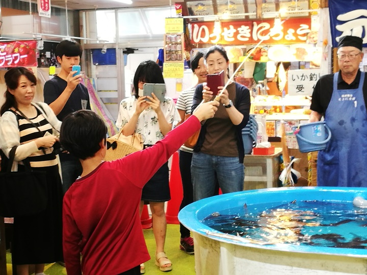 hakodatemorningmarket10 Hakodate-有趣函館朝市 きくよ食堂的海鮮丼飯 北海道必吃