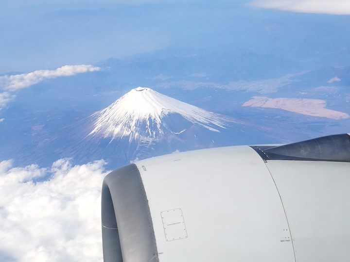 flyngo15 201803桃園名古屋羽田松山 有富士山作伴的旅程