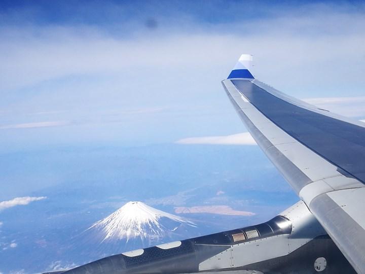 flyngo17 201803桃園名古屋羽田松山 有富士山作伴的旅程