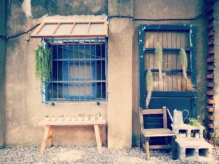 wethey09 中壢-我們他們咖啡 老街溪旁老屋屬於大家的咖啡館