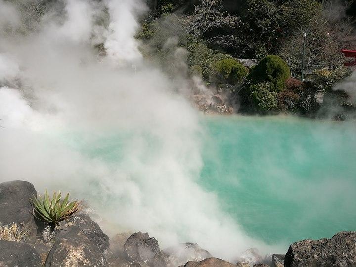 Beppu09-1 Beppu-別府地獄之旅 海地獄&血の池地獄 這明明就地熱谷...
