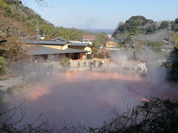 Beppu27-1 Beppu-別府地獄之旅 海地獄&血の池地獄 這明明就地熱谷...