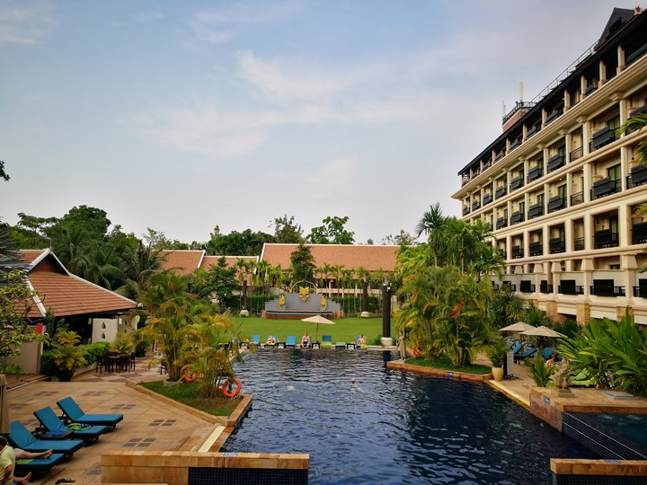 angkormiracle25 Siem Reap-暹粒Angkor Miracle Reflection Club中韓大媽過境無敵吵雜的早餐