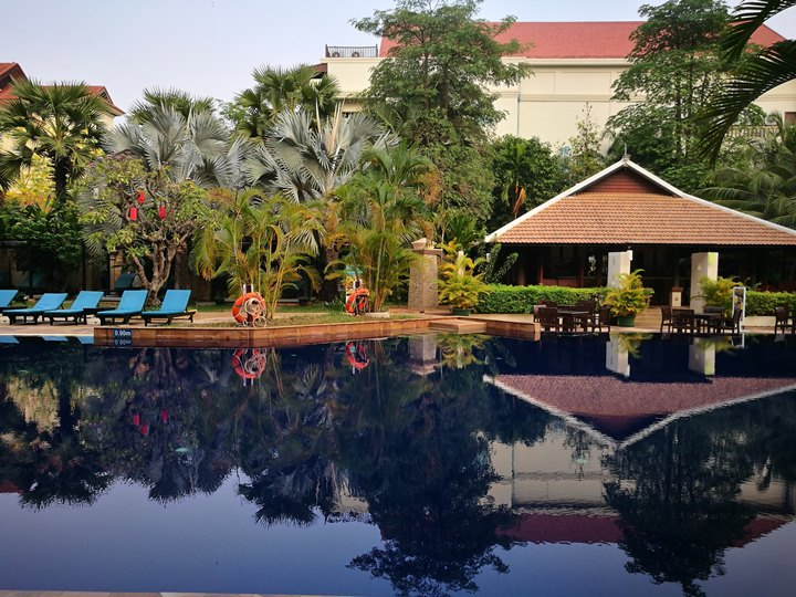 angkormiracle39 Siem Reap-暹粒Angkor Miracle Reflection Club中韓大媽過境無敵吵雜的早餐