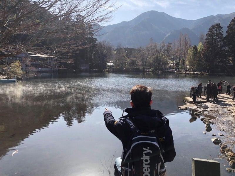 kinrinko04 Yufuin-金鱗湖 由布院第一美景 飄渺夢幻的小池塘