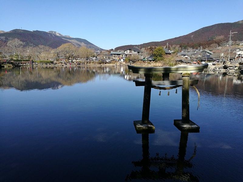 kinrinko17 Yufuin-金鱗湖 由布院第一美景 飄渺夢幻的小池塘