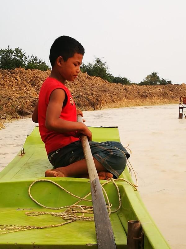 tonlesap03 Siem Reap-Tonle Sap洞里薩湖 柬埔寨的魚米鄉 落後環境中的知足生活
