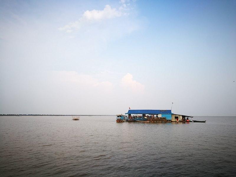 tonlesap31 Siem Reap-Tonle Sap洞里薩湖 柬埔寨的魚米鄉 落後環境中的知足生活