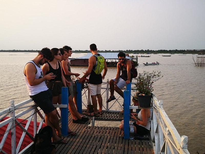 tonlesap35 Siem Reap-Tonle Sap洞里薩湖 柬埔寨的魚米鄉 落後環境中的知足生活