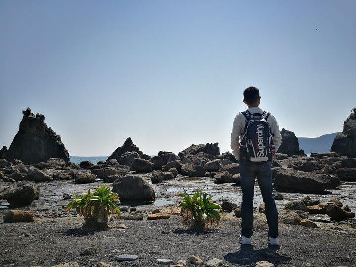 Hashiguiiwa0102-1 Kushimoto-橋杭岩 和歌山串本地質奇景
