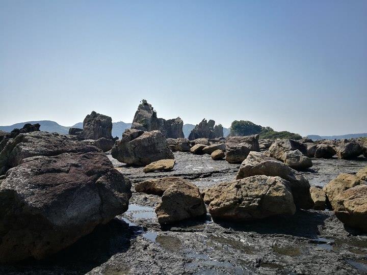 Hashiguiiwa0103-1 Kushimoto-橋杭岩 和歌山串本地質奇景