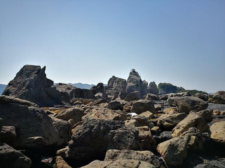 Hashiguiiwa0106-1 Kushimoto-橋杭岩 和歌山串本地質奇景