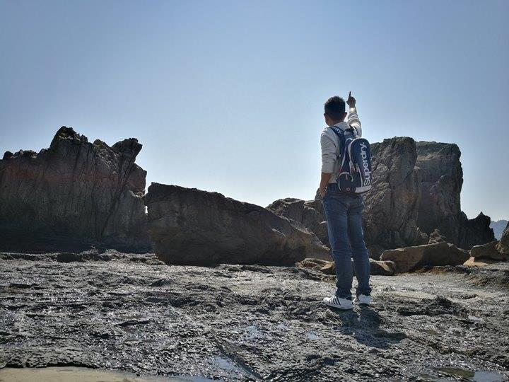 Hashiguiiwa0115-1 Kushimoto-橋杭岩 和歌山串本地質奇景