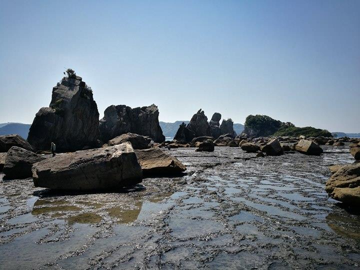 Hashiguiiwa0120-1 Kushimoto-橋杭岩 和歌山串本地質奇景