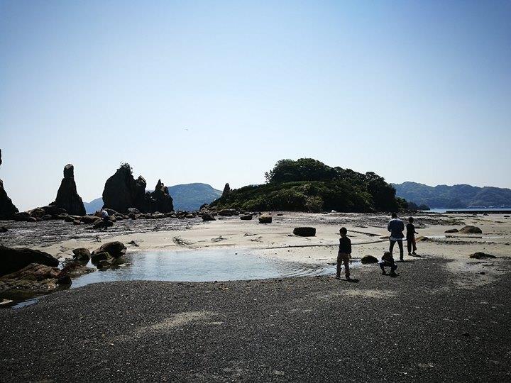 Hashiguiiwa0122-1 Kushimoto-橋杭岩 和歌山串本地質奇景
