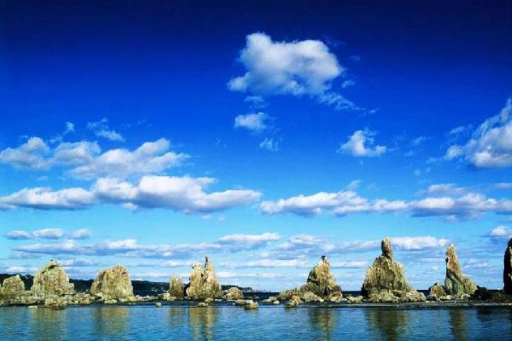 Hashiguiiwa0130-1 Kushimoto-橋杭岩 和歌山串本地質奇景