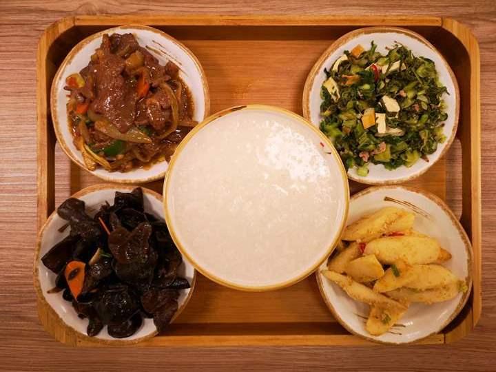 chouchou2 竹北-粥粥家 給夜歸人的一盞燈 簡單舒適自助餐也走文青風